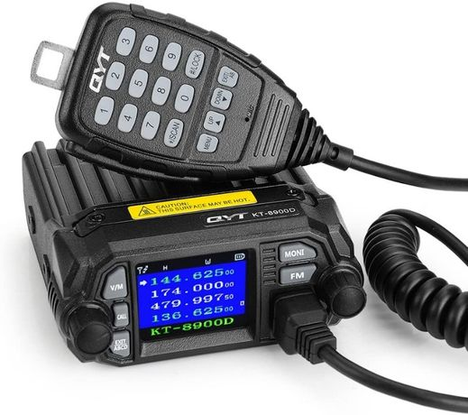 2020 Radio QYT KT-8900D 25W Dual Band/Quad Standby Novo