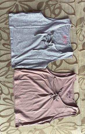 T-shirty crop top wiązany bez rękawów