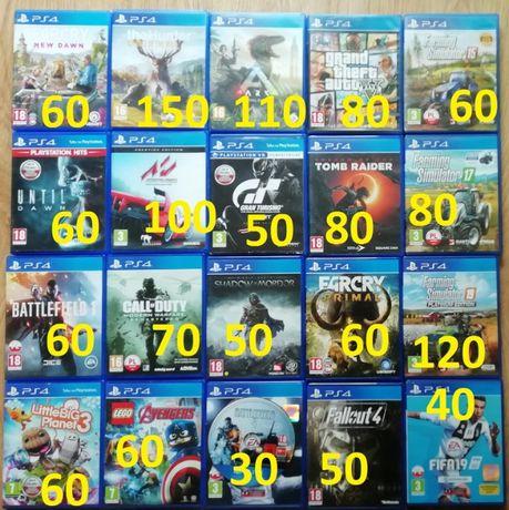 Gry PlayStation 4 Oryginalne gta farcry lego farming wyścigi strzelank