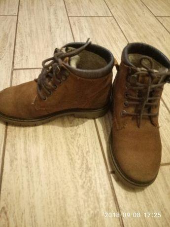 Замшевые ботинки Zara р. 29