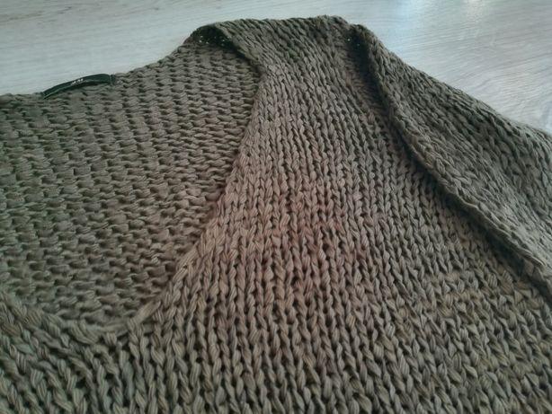 Bluzka/ażurowy sweterek H&M rozm. S