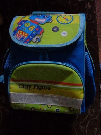Ортопедический школьный рюкзак ранец Zibi, робот