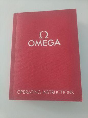 Manual de instruções relógio Omega I/14