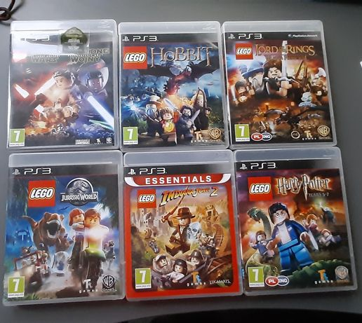 Lego Władca Pierścieni Ps3 Lord of the Rings play station 3