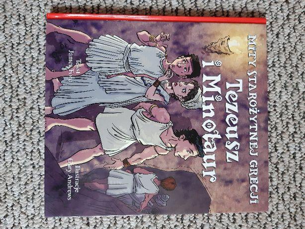 książka Tezeusz i Minotaur - Gary Andrews , James Ford
