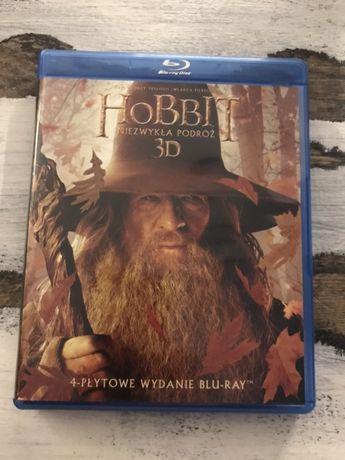 Film Hobbit Niezwykła Podróż 3D 4x Bluray