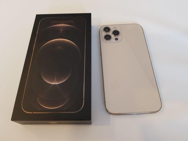 NOVO Iphone 12 Pro Max 256GB Dourado com Clear Coat