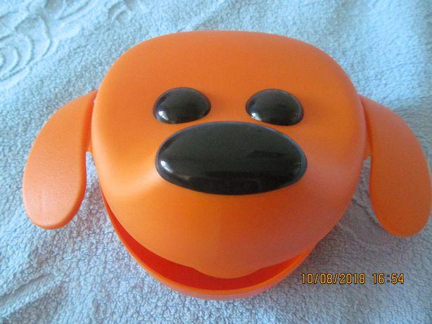 детский контейнер IKEA для еды Смаска - собака Новый!!