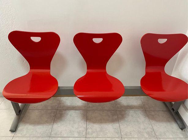 Cadeira de espera escritório