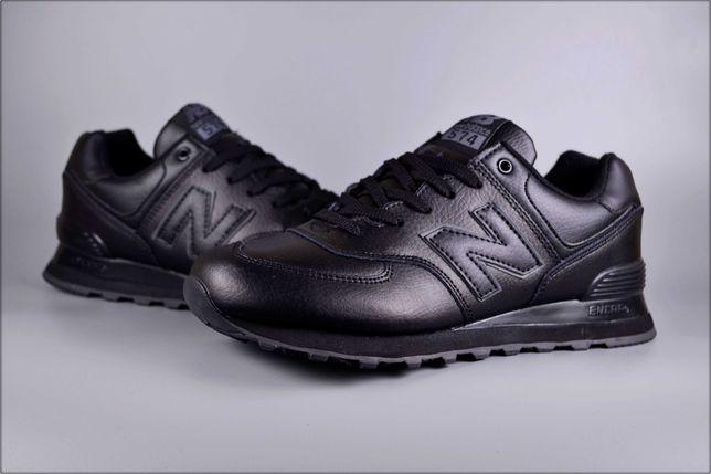 Мужские кроссовки New Balance 574 Full Black, Осення обувь