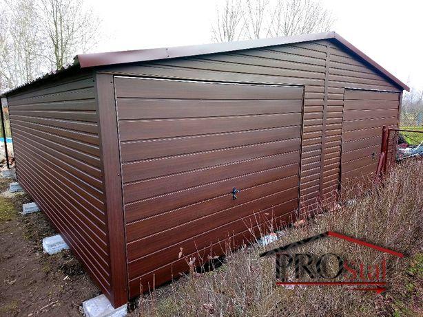 garaże drewnopodobne, akrylowe, ocynkowane. Jakość Premium, Hit!