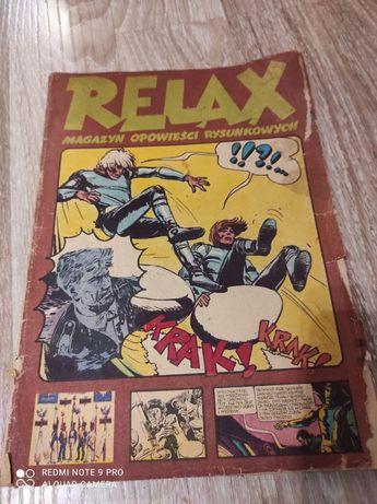 Relax magazyn opowieści rysunkowych Zeszyt 6