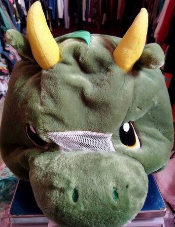 Голова костюм дракона корновальный костюм