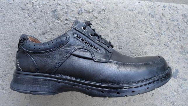 Оригинальные туфли Кларкс Clarks Unstructured un bend Кожа 42, 27.5 см