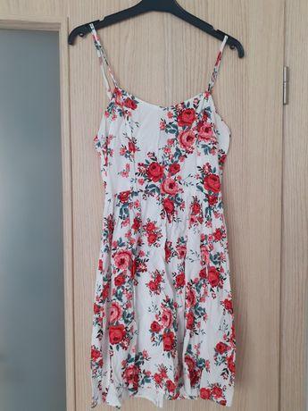 Letnia, kwiecista sukienka