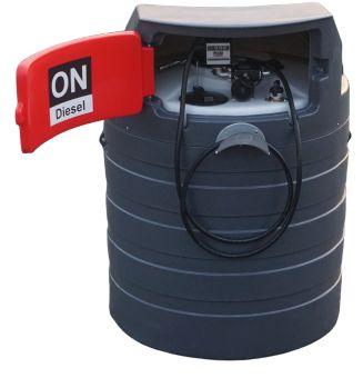 Zbiornik dwupłaszczowy na paliwo rope olej napędowy 1500L