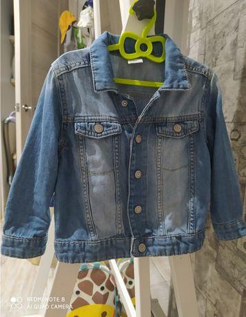 Джинсова куртка піджак h&m