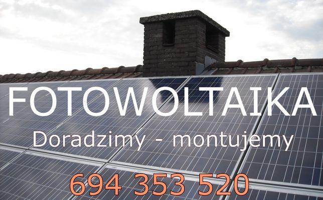 FOTOWOLTAIKA OD A DO Z - Doradzamy montujemy. Dom panele dach solary.