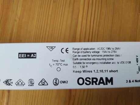 Statecznik elektroniczny starter 3X18W, 4X18