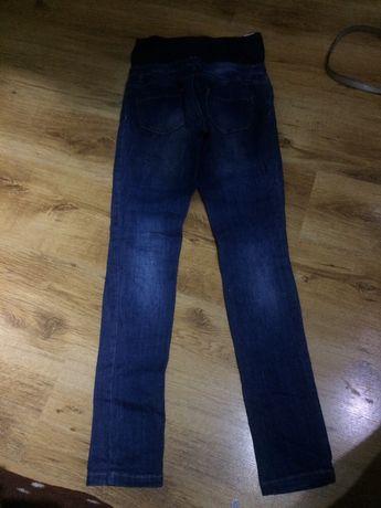 Jeansy spodnie ciążowe S