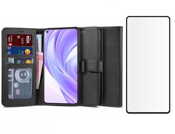 Etui Wallet 2 + Szkło do Xiaomi Mi 11 Lite 4G / 5G