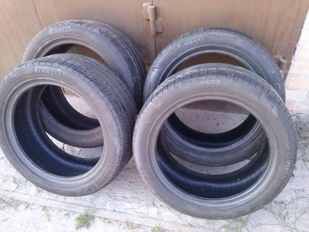 Продам летнюю резину pirelli cinturato p7245 45r17 95w. Торг.Подарок