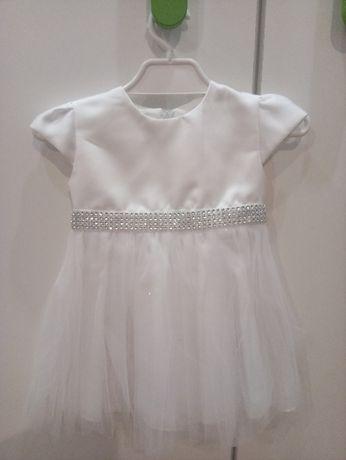 sukienka 62 + bolerko do chrztu