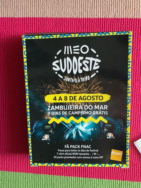 Bilhete MEO Sudoeste 2021 - Passe Geral + 9 Dias de Campismo