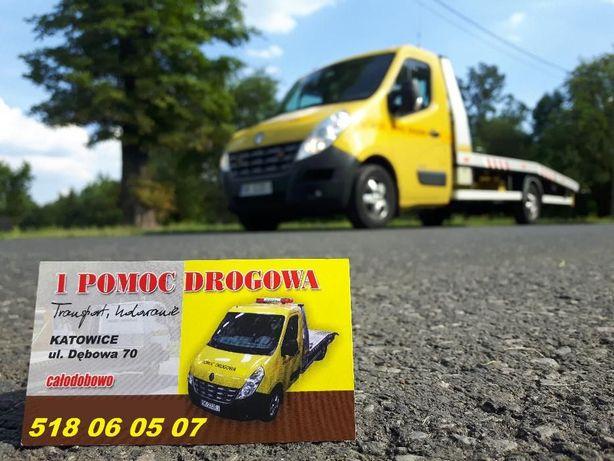 Pomoc Drogowa, Holowanie Laweta Transport Autolaweta24hKATOWICE ŚLĄSK