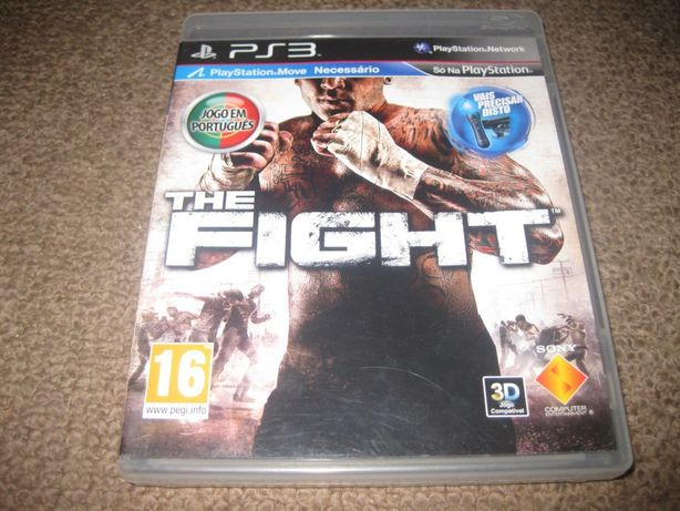 "Jogo ""The Fight"" para a PS3/Completo!"