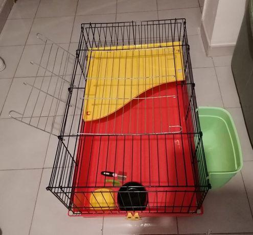 Gaiola grande para roedores