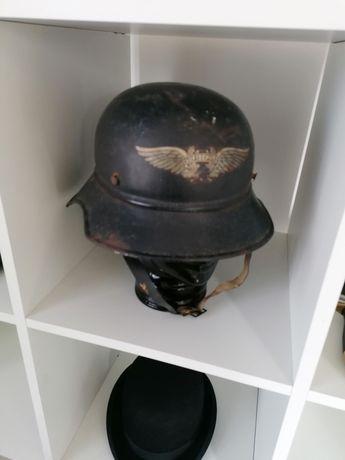 Hełm niemiecki Luftschutz gladiator II wojna nie bagnet szabla