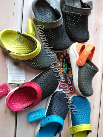 Хит! Детские кроксы Crocs Kids Literide clog С9,10,11,12,13,J1,2,3