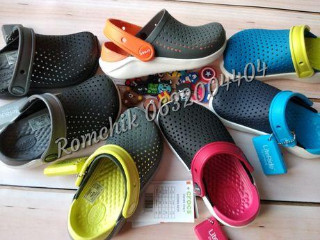 Хит! Детские кроксы Crocs Kids Literide clog С10,11,12,13,J1,2,3 25-34