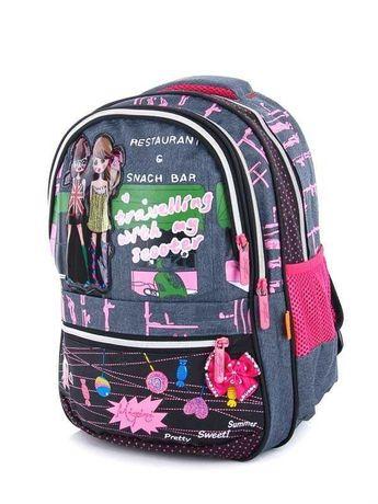 Детский школьный рюкзак для девочки Miqini YR 8831