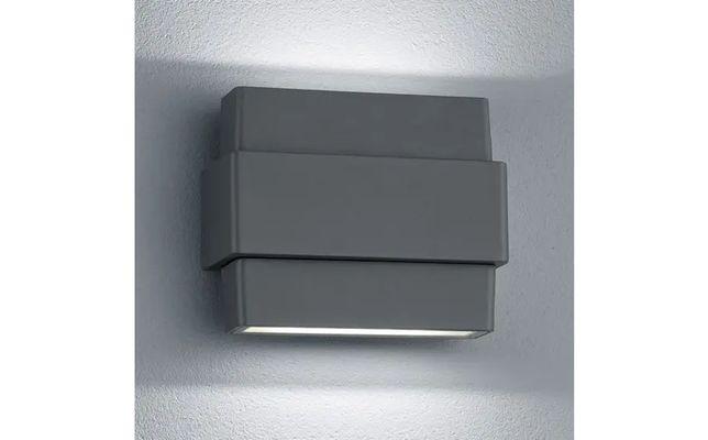Kinkiet zewnętrzny LED Padma, antracytowy