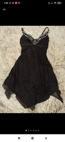 Чёрное нарядное вечернее платье Jane Norman