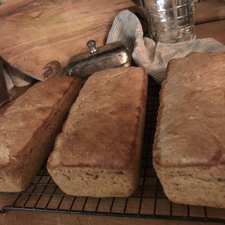 Chleb orkiszowy 100% mąka orkiszowa pełnoziarnista