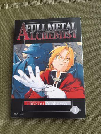 """Książka manga """"fullmetal alchemist"""""""