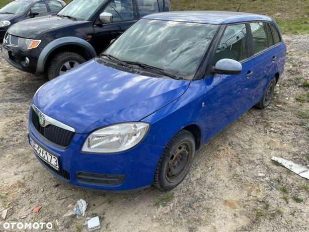 Škoda Fabia uszkodzony silnik salon PL