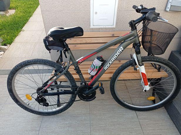 Bicicleta BTT Rockrider 5.1 Quadro tamanho S V-Brake