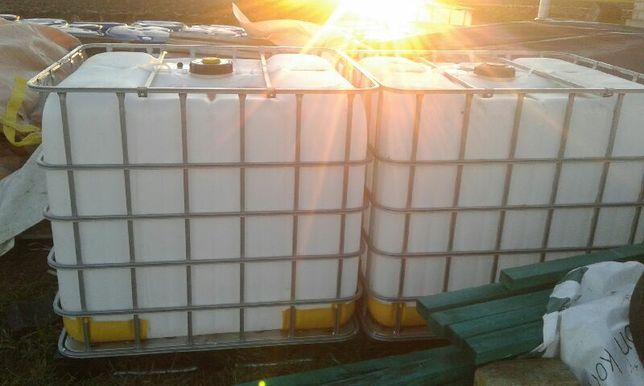 Mauzer 1000 litrów paleto pojemnik zbiornik