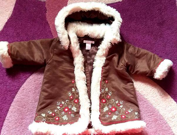 Пальто H&M на дівчинку р.74