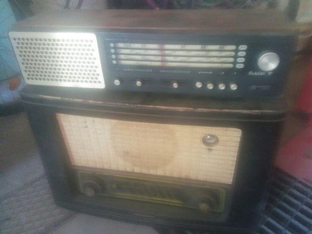 radio lampowe prl