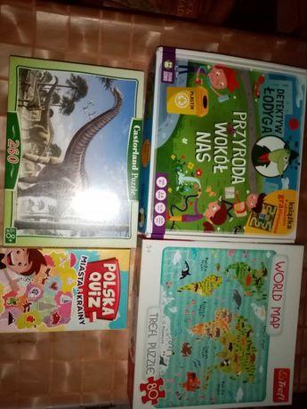 Gry i puzzle od 4 do 8 lat
