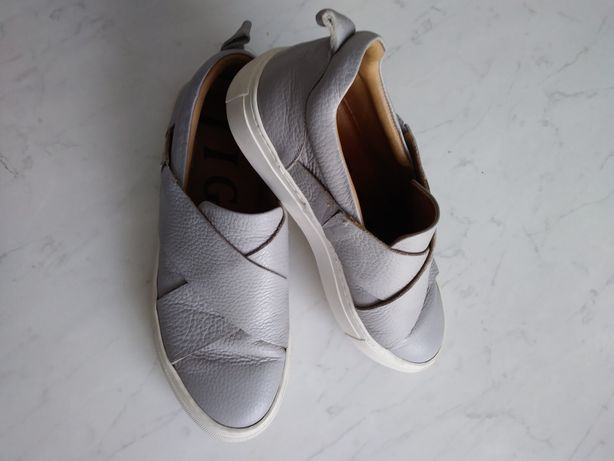 Buty stylowe skóra nat. Jigsaw r. 39 jak nowe