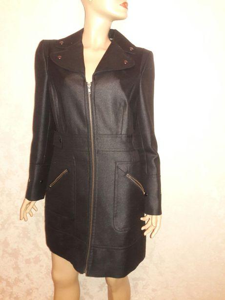 пальто шерстяное на молнии размер 12-14