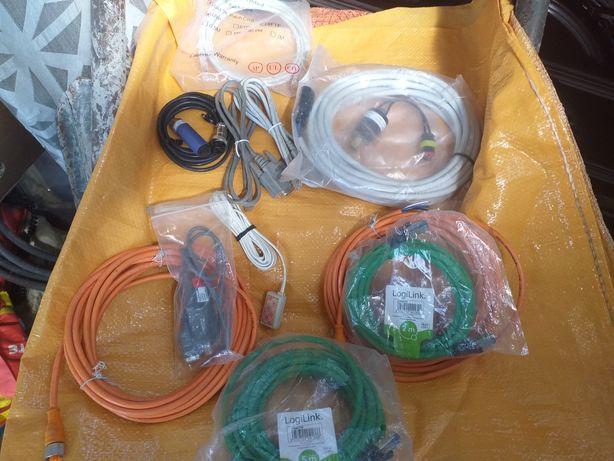 Vários tipos de cabos