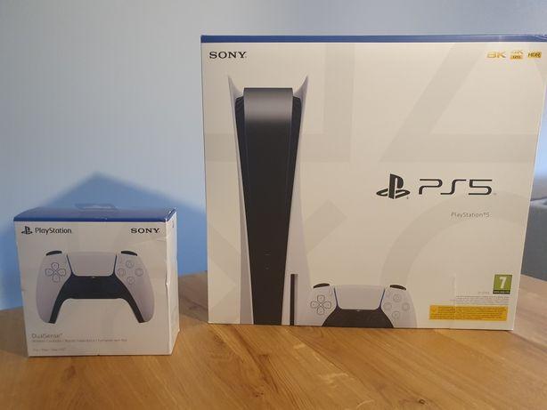 Playstation 5 Versão Standard + Comando Extra
