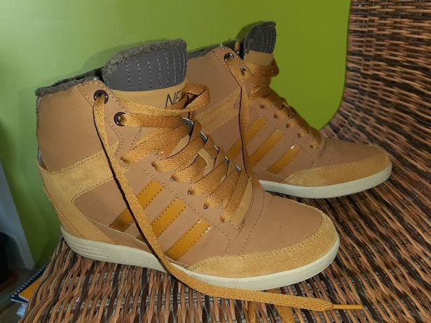 Adidas сникерсы , кроссовки. размер 6, 4.5, 23см,
